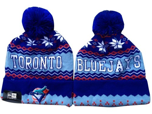 MLB Toronto Blue Jays Stitched Knit Beanies Hats 014