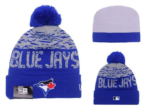 MLB Toronto Blue Jays Stitched Knit Beanies Hats 015