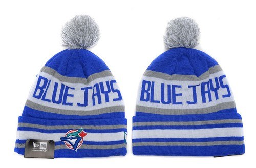 MLB Toronto Blue Jays Stitched Knit Beanies Hats 016
