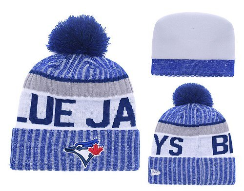 MLB Toronto Blue Jays Stitched Knit Beanies Hats 017