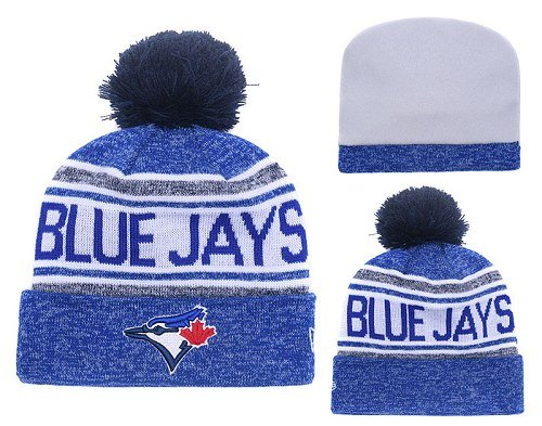 MLB Toronto Blue Jays Stitched Knit Beanies Hats 018