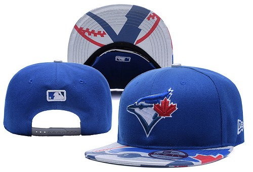 MLB Toronto Blue Jays Stitched Snapback Hats 029