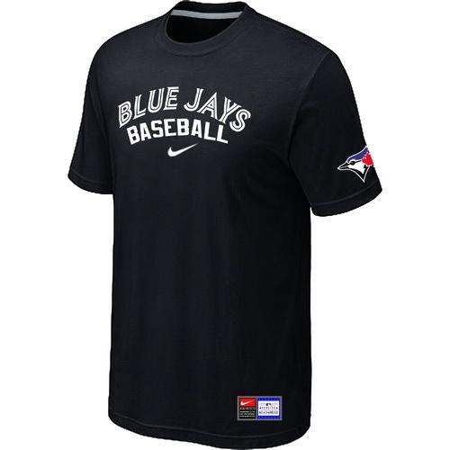 MLB Men's Toronto Blue Jays Nike Practice T-Shirt - Black