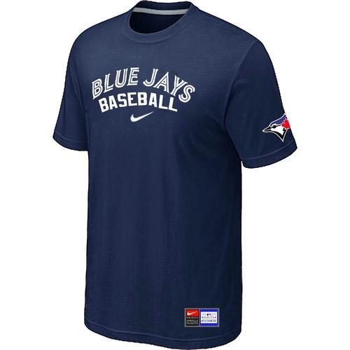 MLB Men's Toronto Blue Jays Nike Practice T-Shirt - Navy
