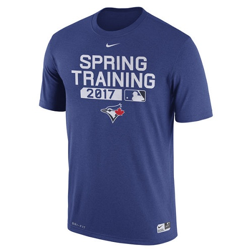 MLB Men's Toronto Blue Jays Nike Royal 2017 Spring Training Authentic Collection Legend Team Issue Performance T-Shirt