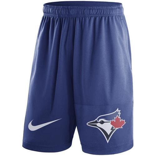 MLB Men's Toronto Blue Jays Nike Royal Dry Fly Shorts