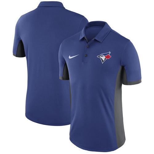 MLB Men's Toronto Blue Jays Nike Royal Franchise Polo T-Shirt