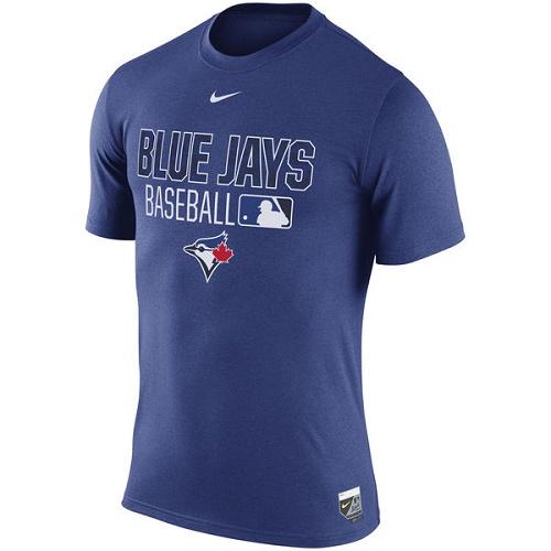 MLB Toronto Blue Jays Nike 2016 AC Legend Team Issue 1.6 T-Shirt - Royal