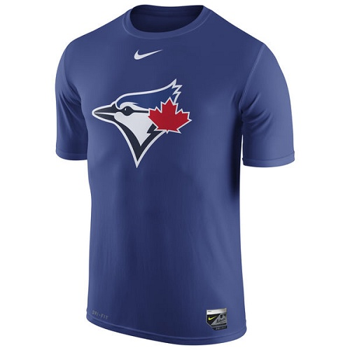 MLB Toronto Blue Jays Nike Authentic Collection Legend Logo 1.5 Performance T-Shirt - Royal